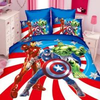 FUNDA NORDICA MARVEL SUPERHEROES. ROPA DE CAMA